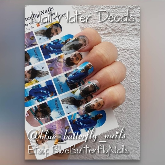 blue_butterfly_nails Accessories | 1122 Nipsey Hussle 3 Water Decal ...